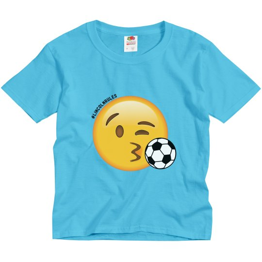 KIDS: Lincoln Rules Soccer (light colored tees)