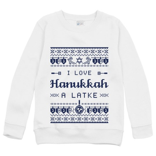 Kids Love Hanukkah Latke