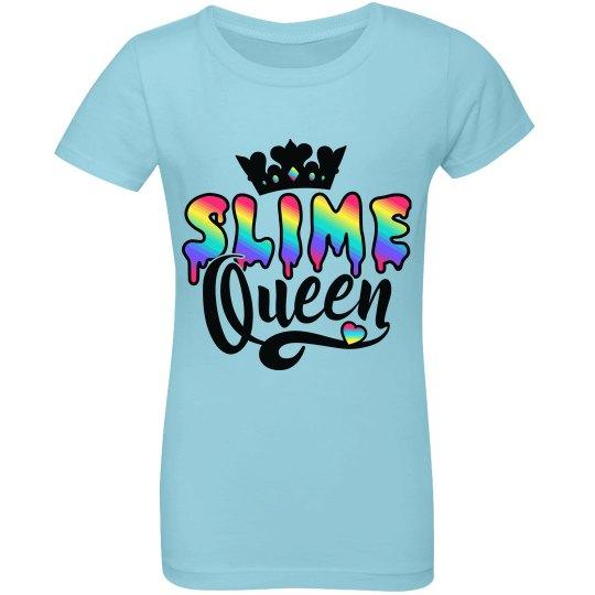 Kids Slime Queen Rainbow Gift