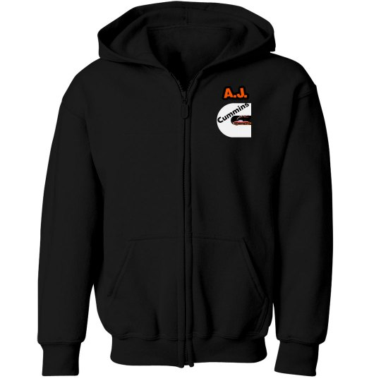 Kids turbo zip hood