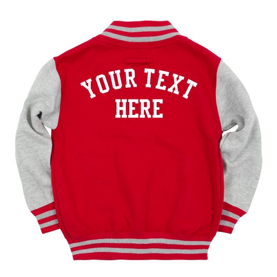 Kids' Your Text Here Letterman
