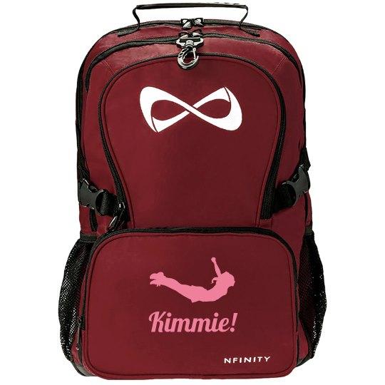 Kimmie's Cheer Gear Bag Custom Nfinity Backpack