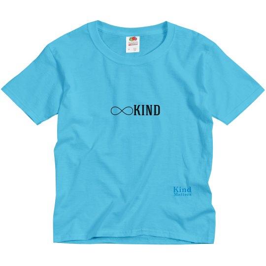 Kind infinity youth tee