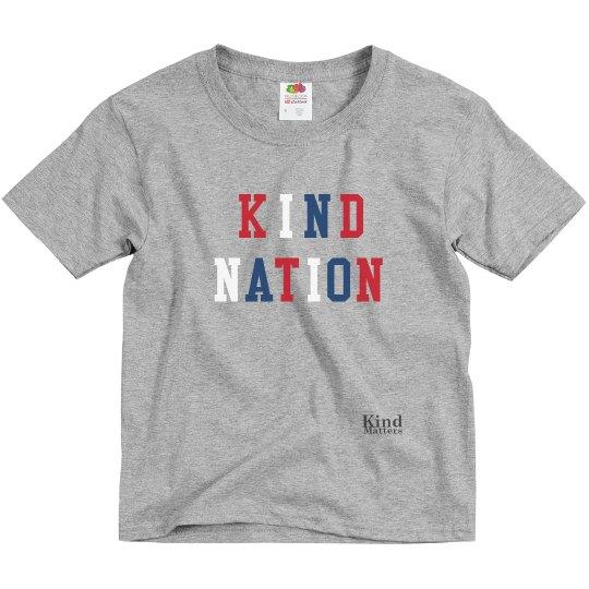 Kind Nation youth tee