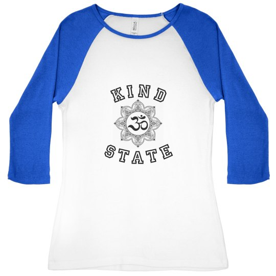 Kind State ladies tee (back logo)