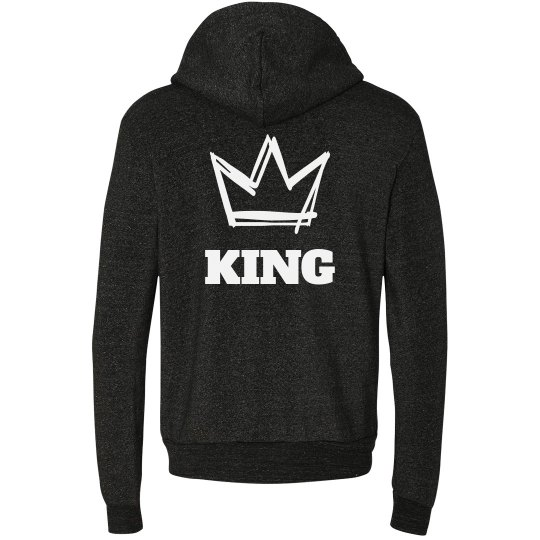King and Queen Couple Hoodies 1