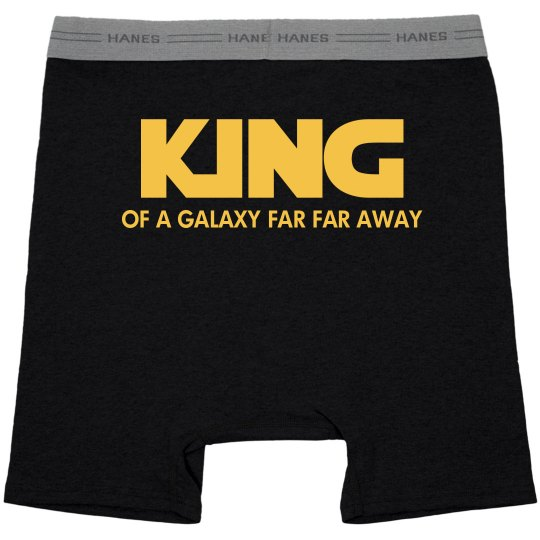 King Of A Galaxy Far Far Away