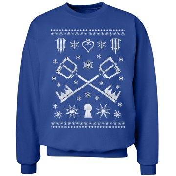 Kingdom Hearts Ugly XMAS Sweater