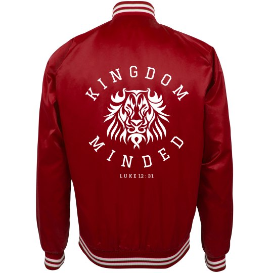 Kingdom Minded Bomber Jacket