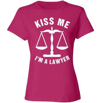 Kiss me I'm a Lawyer