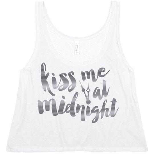 Kiss Me Silver Metallic