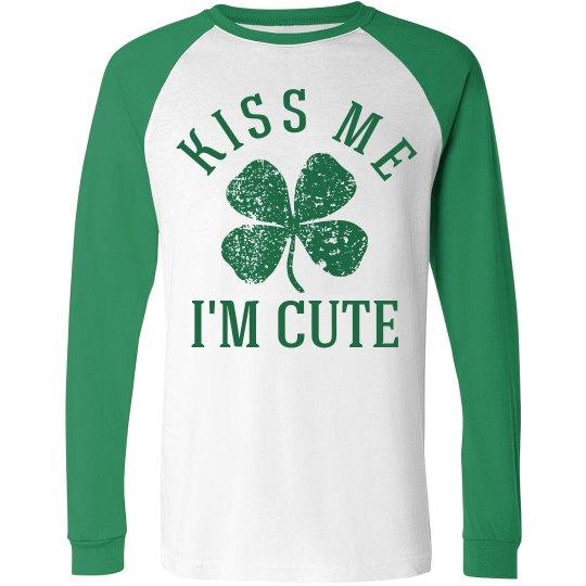 Kiss Me St Patty's Long Shirts