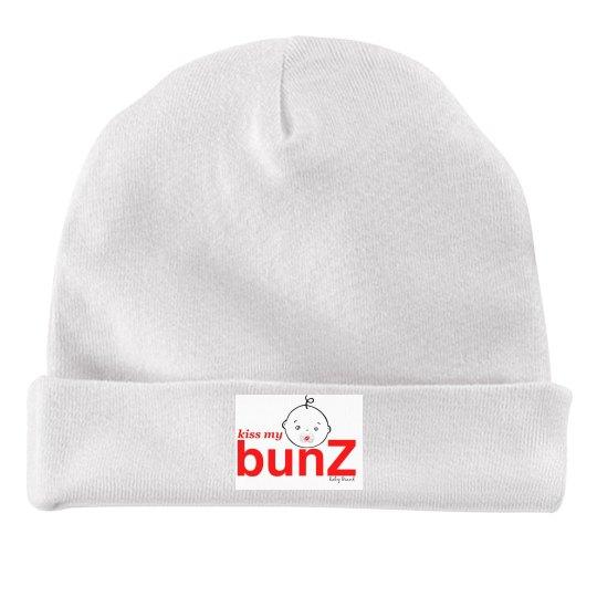 kiss my bunZ infant hat