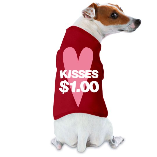 Kisses (Licks) For A Buck
