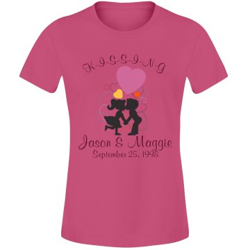 KISSING Couples Tee