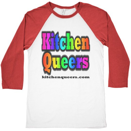 Kitchen Queers Red Logo Shirt