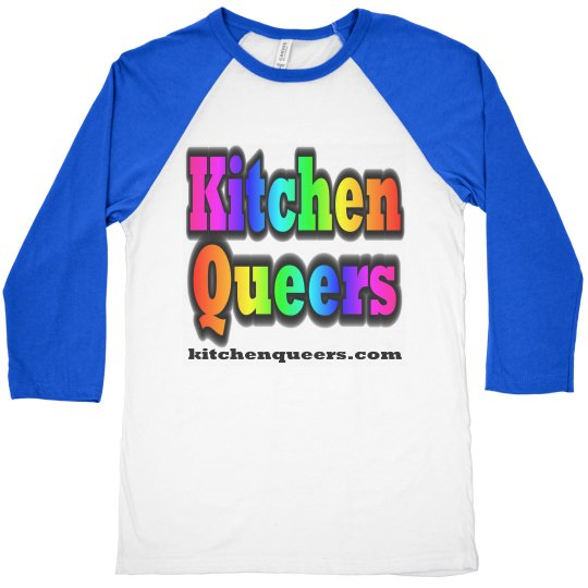 Kitchen Queers Royal Blue Logo Shirt
