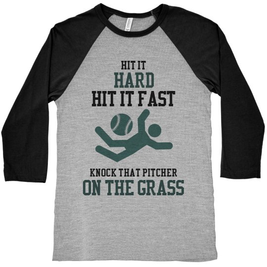 Knock That Pitcher Down!