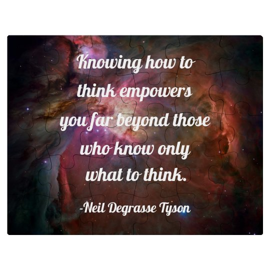 Knowing How To Think Empowers You
