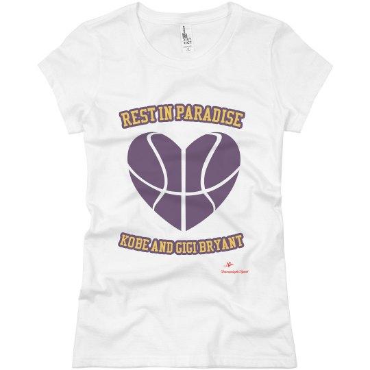 Kobe/gigi rip shirt