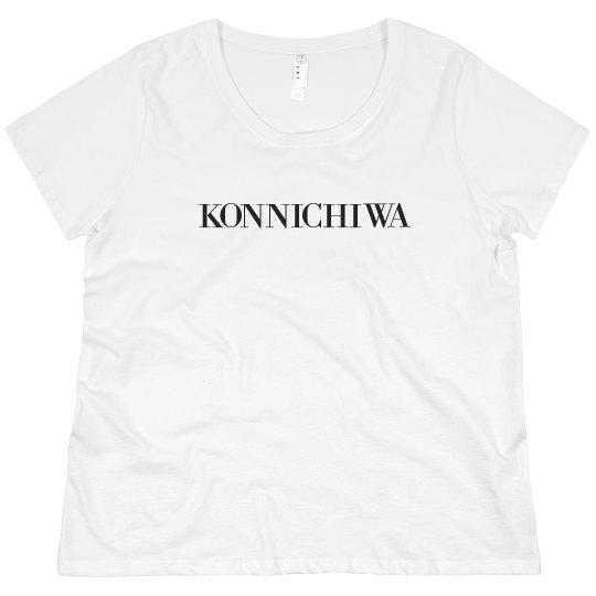 Konnichiwa Tee