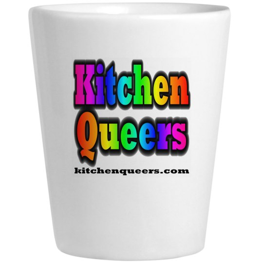 KQ Ceramic Shot Glass