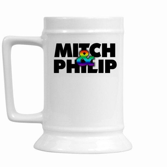 KQ Rainbow Logo Beer Mug