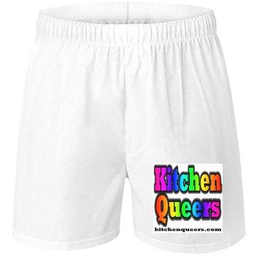 KQ Rainbow Logo Boxers