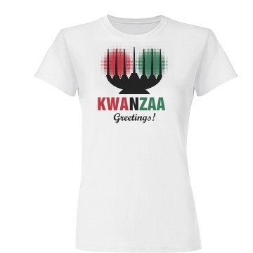 Kwanzaa Greetings Tee