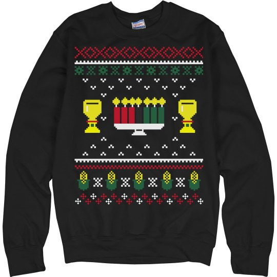 Kwanzaa Ugly Sweater Sweatshirt