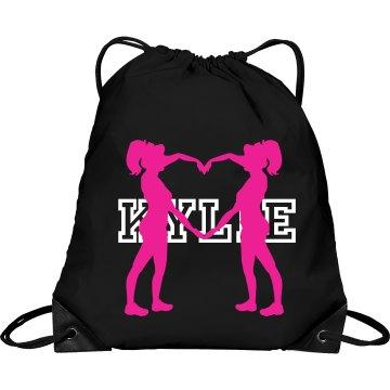 Kylie cheer bag