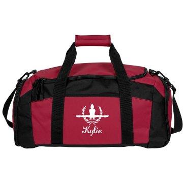 Kylie. Gymnastics bag #2