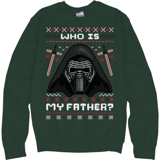 Kylo Ren Ugly Sweater