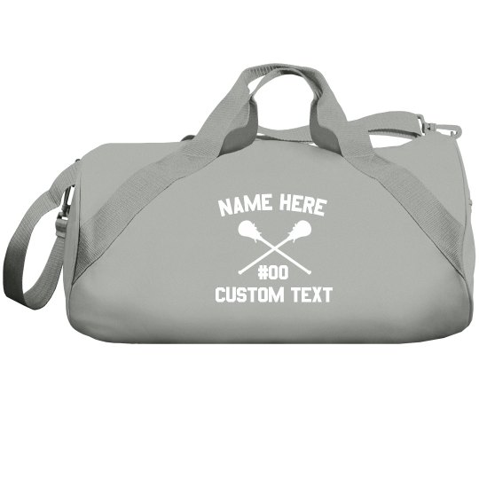 Lacrosse Custom Duffel Bag