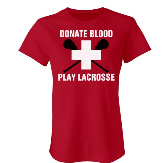 Lacrosse Donate Blood