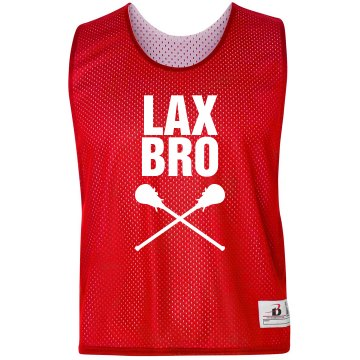 Lacrosse Lax Bro Custom Practice Pinnie