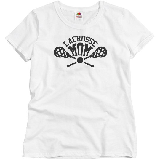 Lacrosse Mom for Life Tee