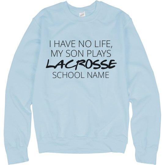 Lacrosse Mom Funny Custom