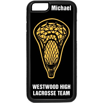 Lacrosse Player iPhone