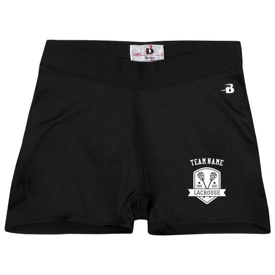 Lacrosse Team Compression Shorts
