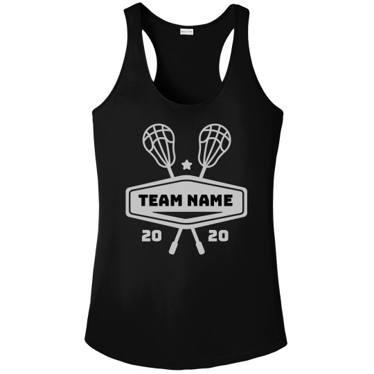 Lacrosse Team Name Custom Workout