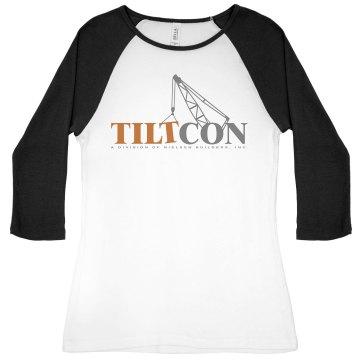 Ladies 3/4 - Tiltcon