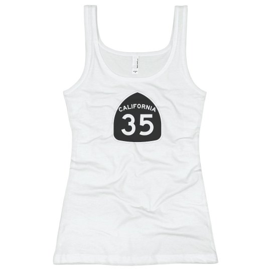 Ladies 35 tank top