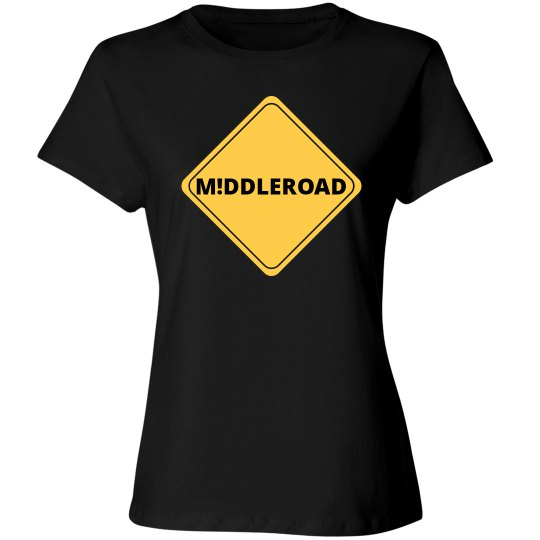 Ladies Cut M!DDLEROAD T-Shirt 2
