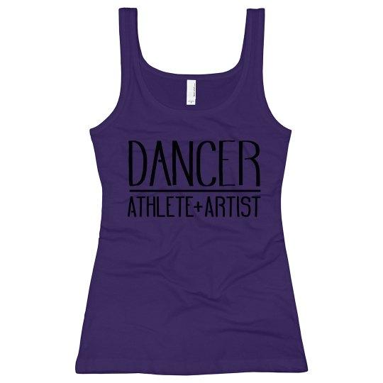 Ladies Dancer Athlete Artist Tank