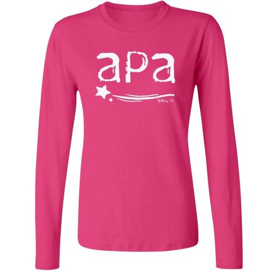 Ladies Long Sleeved T APA