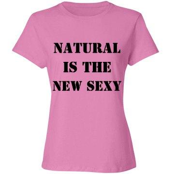 Ladies Natural Tee