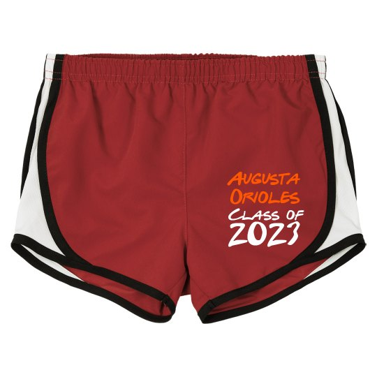 Ladies Running Shorts personalize Class of