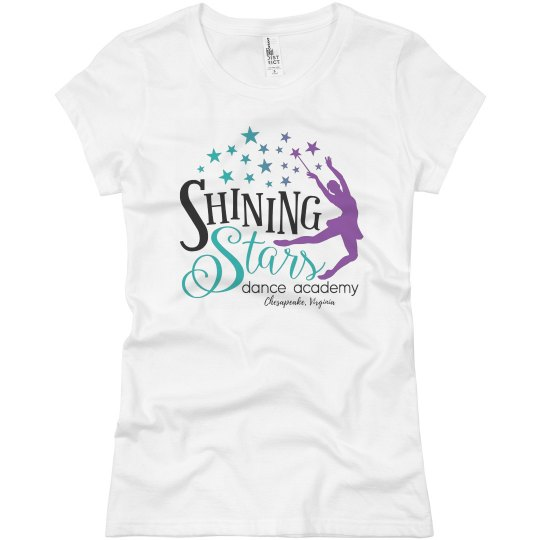 Ladies Slim Fit Logo T