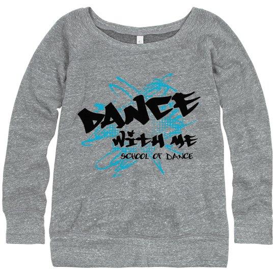 Ladies Sweatshirt logo